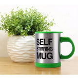 Large Self Stirring Coffee Mugs - Muggalicious