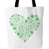 Love the Leaf Tote Bags - Muggalicious