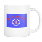Baseball Mom Design #1 - White Coffee Mugs - Muggalicious