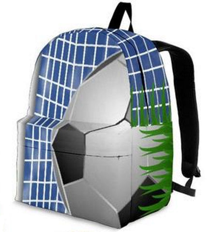 Kick That Ball Soccer Net Backpacks for the Whole Family - Muggalicious