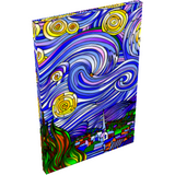 Starry Nights Interpreted - Wall Art Canvas