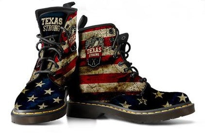 Texas Strong- Men's and Women's Vegan-friendly Leather Boots - Muggalicious