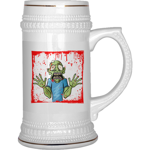 Zombie/Walking Dead  Beer Stein - Grab Your Beer and Run! - Muggalicious