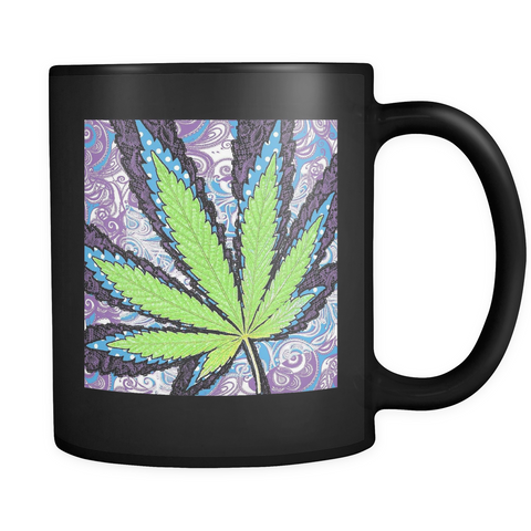 Berry Jane Black Mug