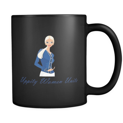 Uppity Women - Black Mug