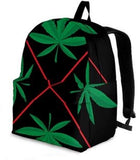 Marijuana Arrow Leaf Backpack - Muggalicious