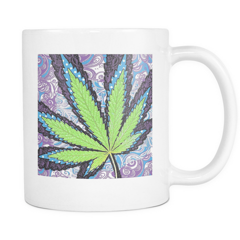 Berry Jane White Mug - Muggalicious