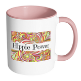 Hippie Power Accent Mugs - Muggalicious