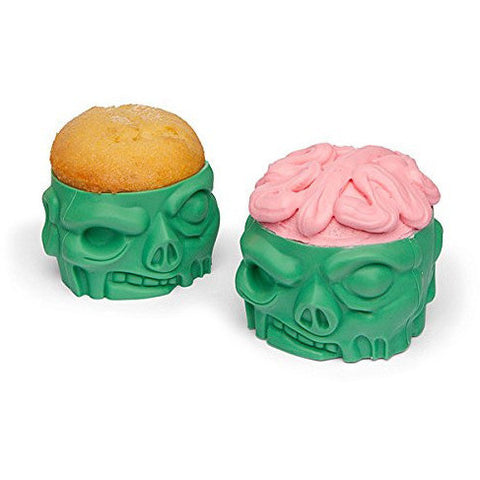 Zombie Silicone Baking Cups