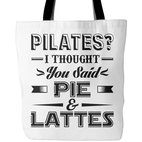 Pilates? Tote Bags