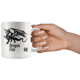 Dragon Fire Augmented Reality Mug