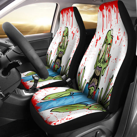 Zombie/Walking Dead Car Seat Covers - Muggalicious