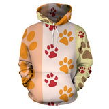 Paws and Stripes Ultra Hoodie - Muggalicious