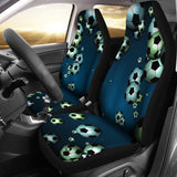 Floating Soccer Balls in the Sky Seat Cover Set - Muggalicious
