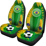 Brazil World Cup Soccer Seat Covers - Muggalicious