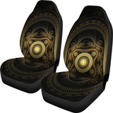 Art Deco Steampunk Revival Design Car Seat Covers - Muggalicious
