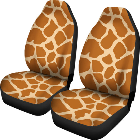 Miraculous Giraffe Wildlife Print Car Seat Covers Muggalicious Short Links Chair Design For Home Short Linksinfo