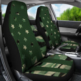 Camouflage American Army Flag Design Seat Covers - Muggalicious