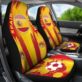 Spain World Cup Soccer Car Seat Covers