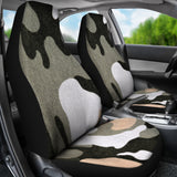 Desert Camouflage Design Seat Covers - Muggalicious