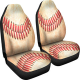 Baseball Stitches - Car & SUV Seat Covers - Muggalicious