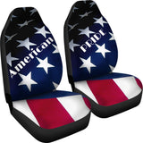 American Pride - Red, White and Blue Car Seat Covers - Muggalicious