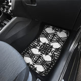 Winter Basketwork Front Car Mats (Set Of 2)