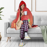 Movie Night Hooded Blanket