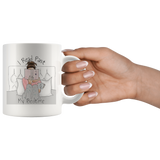 I Read Past My Bedtime White Mug - Muggalicious
