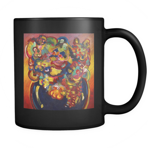 Flowers Interpreted - Black Mug