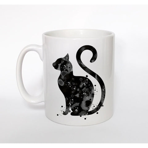 Colorful, Fanciful Curly Cat Tails Mug!