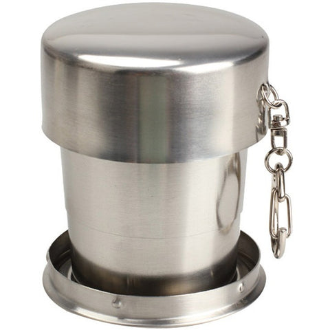 Outdoor Foldable Stainless Steel Mug