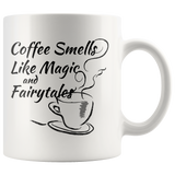 Coffee Smells Like Magic and Fairytales with Steaming Coffee - Muggalicious