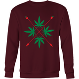 Weed Herbal Crest Design  T-shirts, Hoodies + - Muggalicious