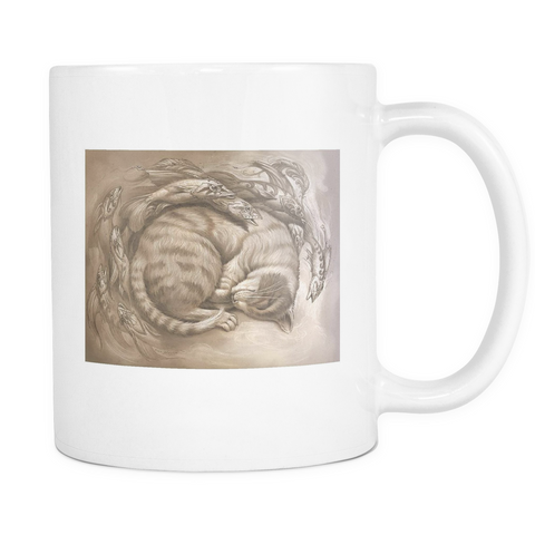 Fishy Dreams - Make Cat Naps Puuurfect Mug - Muggalicious
