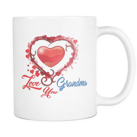 Love You Grandma - White Mug