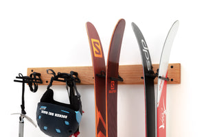 Rocker Ski Rack – Quad - Rocker Ski Rack