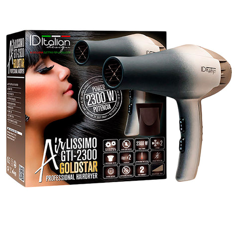 AIRLISSIMO GTI 2300 hairdryer gold star