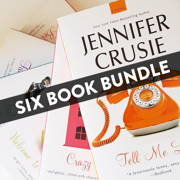 Six Book Trade Paperback Bundle (Signed by Jenny)
