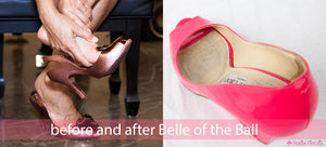 Belle of the Ball: ball of the foot gel cushions