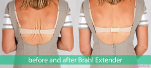 Brah Extender- Eliminate back fat with bra back extender