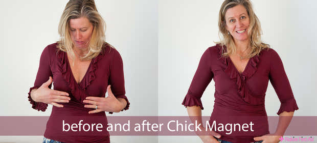 Chick Magnet: dress/blouse peepshow stoppers 1