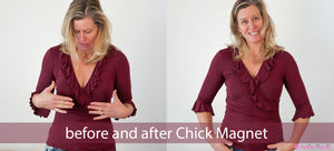 Chick Magnet: dress/blouse peepshow stoppers