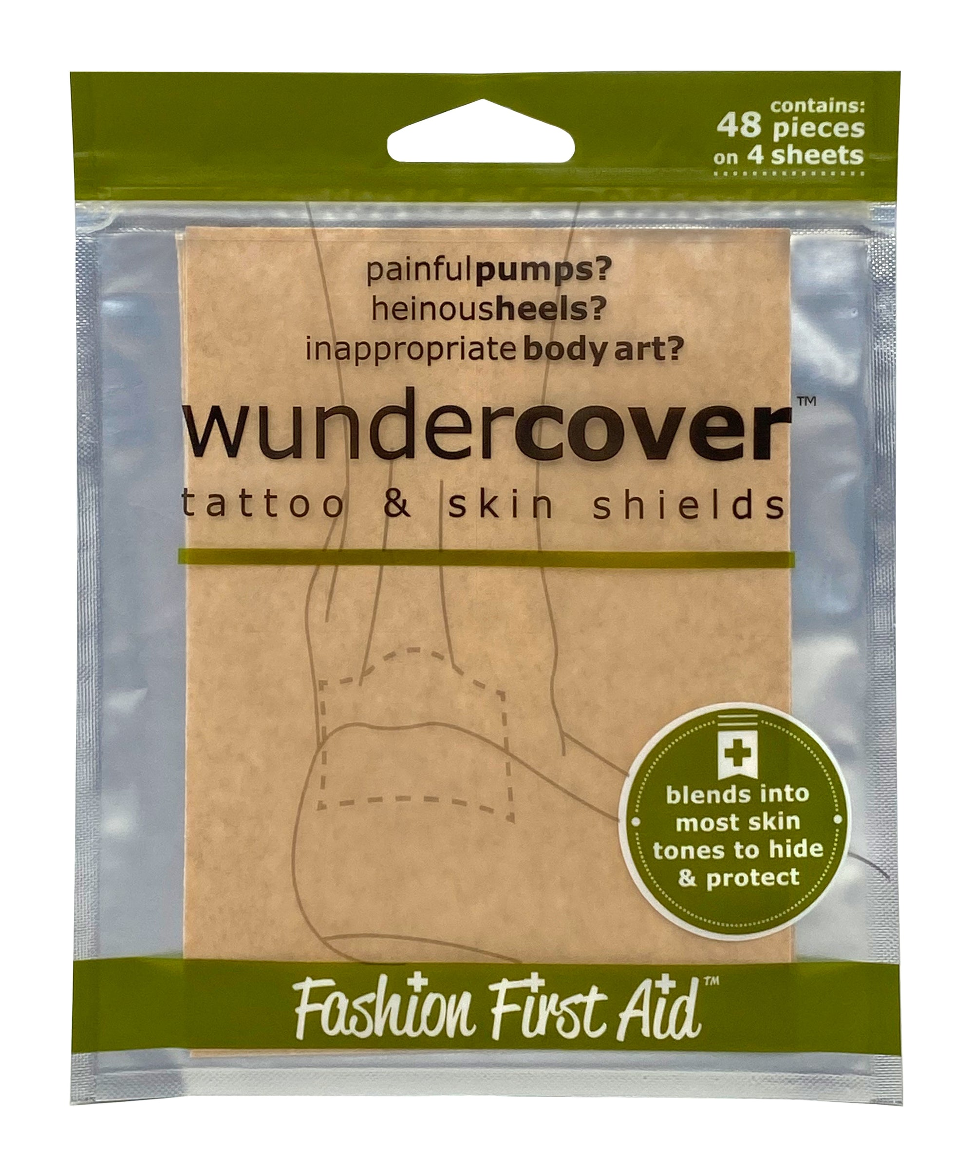 Wundercover - tattoo covers and blister blocker