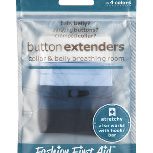 Button Extenders: collar & belly breathing room (10 pack)