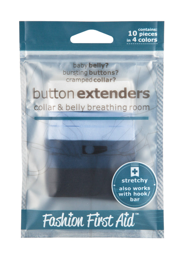 Button Extenders: collar & belly breathing room (10 pack) 1