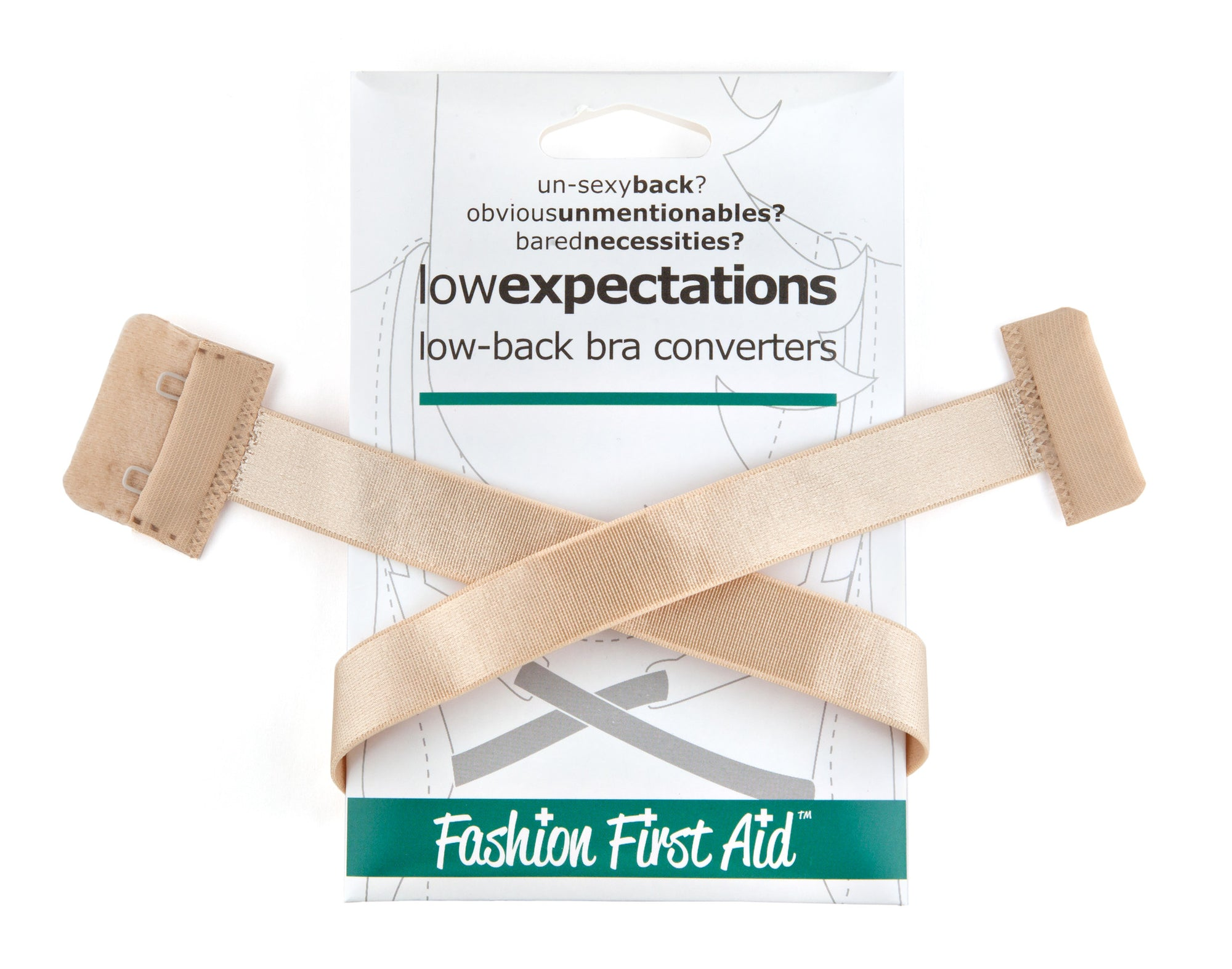 Low Expectations- no show low back bra converter
