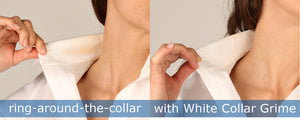 White Collar Grime- prevent collar stains