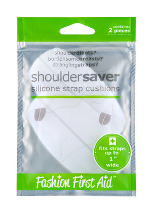 Shoulder Savers- silicone bra strap comfort cushions