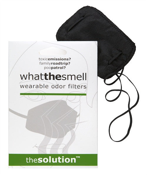 What The Smell- wearable nose odor filter gag gift